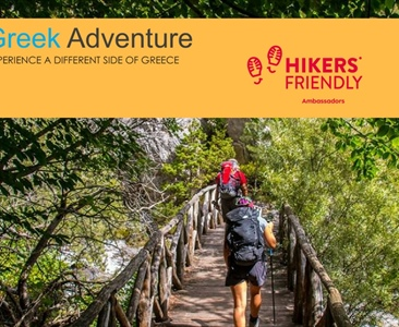 Greek Adventure, Hikers' Friendly Ambassador