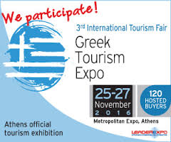 Greek Adventure at Greek Tourism Expo 2016