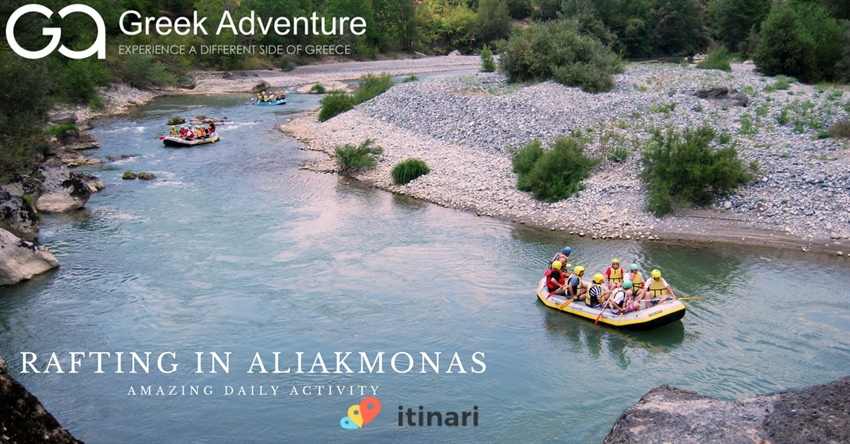 Greek Adventure Rafting In Aliakmonas
