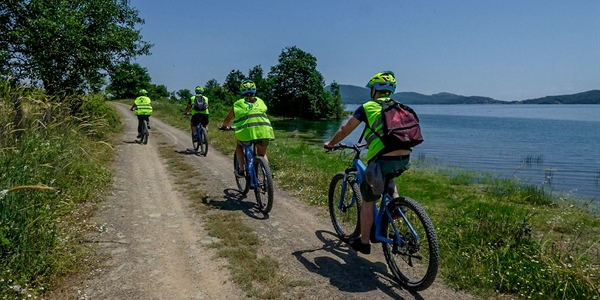E-bike around the Plastira Lake in Thessaly!